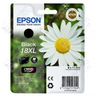 Cartuccia Originale EPSON 18XL,T1811 - C13T18114010 - Nero - Margherita - 11.5ml