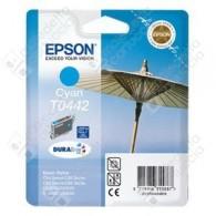 Cartuccia Originale EPSON T0442 - C13T04424010 - Ciano - Ombrellone - 13ml