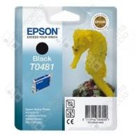 Cartuccia Originale EPSON T0481 - C13T04814010 - Nero - Cavalluccio Marino - 13ml