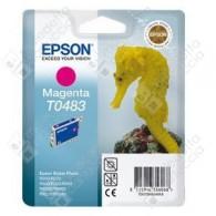 Cartuccia Originale EPSON T0483 - C13T04834010 - Magenta - Cavalluccio Marino - 13ml
