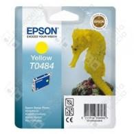 Cartuccia Originale EPSON T0484 - C13T04844010 - Giallo - Cavalluccio Marino - 13ml