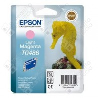 Cartuccia Originale EPSON T0486 - C13T04864010 - Magenta Light - Cavalluccio Marino - 13ml
