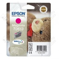 Cartuccia Originale EPSON T0613 - C13T06134010 - Magenta - Orsetto - 8ml
