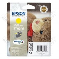 Cartuccia Originale EPSON T0614 - C13T06144010 - Giallo - Orsetto - 8ml