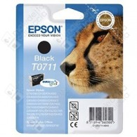 Cartuccia Originale EPSON T0711 - C13T07114011 - Nero - Ghepardo - 7.4ml