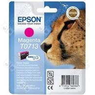 Cartuccia Originale EPSON T0713 - C13T07134011 - Magenta - Ghepardo - 5.5ml