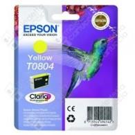 Cartuccia Originale EPSON T0804 - C13T08044011 - Giallo - Colibrì - 7.4ml