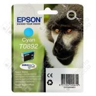 Cartuccia Originale EPSON T0892 - C13T08924011 - Ciano - Scimmia - 3.5ml