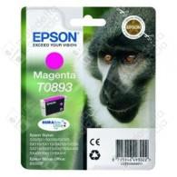 Cartuccia Originale EPSON T0893 - C13T08934011 - Magenta - Scimmia - 3.5ml