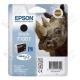 Cartuccia Originale EPSON T1001 - C13T10014010 - Nero - Rinoceronte - 25.9ml