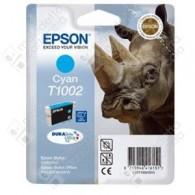 Cartuccia Originale EPSON T1002 - C13T10024010 - Ciano - Rinoceronte - 11.1ml