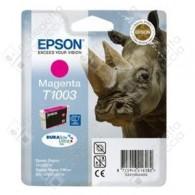 Cartuccia Originale EPSON T1003 - C13T10034010 - Magenta - Rinoceronte - 11.1ml
