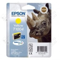 Cartuccia Originale EPSON T1004 - C13T10044010 - Giallo - Rinoceronte - 11.1ml