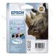 Cartuccia Originale EPSON T1006 - C13T10064010 - Colori - Rinoceronte Multi Pack - 3 x 11.1ml