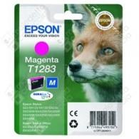 Cartuccia Originale EPSON T1283 - C13T12834011 - Magenta - Volpe - 3.5ml