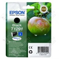 Cartuccia Originale EPSON T1291 - C13T12914011 - Nero - Mela - 11.2ml