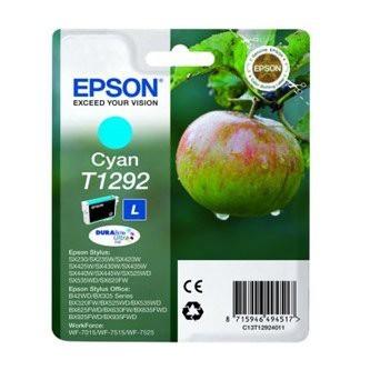 Cartuccia Originale EPSON T1292 - C13T12924011 - Ciano - Mela - 7ml