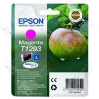Cartuccia Originale EPSON T1293 - C13T12934011 - Magenta - Mela - 7ml