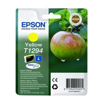 Cartuccia Originale EPSON T1294 - C13T12944011 - Giallo - Mela - 7ml