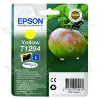 Cartuccia Originale EPSON T1294 - C13T12944011 - Giallo - Mela - 7ml