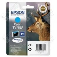Cartuccia Originale EPSON T1302 - C13T13024010 - Ciano - Cervo - 10.1ml