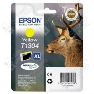 Cartuccia Originale EPSON T1304 - C13T13044010 - Giallo - Cervo - 10.1ml