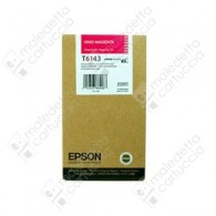 Cartuccia Originale EPSON T6143 - C13T614300 - Magenta - Tanica UltraChrome - 220ml