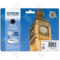 Cartuccia Originale EPSON T7031 - C13T70314010 - Nero - Big Ben - 24ml