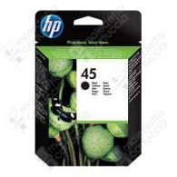 Cartuccia Originale HP 45 Grande - 51645AE - Nero - 42ml - 930 Pagine