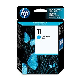 Cartuccia Originale HP 11 - C4836A - Ciano - 28ml - 2.350 Pagine