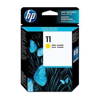 Cartuccia Originale HP 11 - C4838A - Giallo - 28ml - 2.350 Pagine