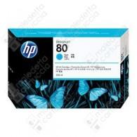 Cartuccia Originale HP 80 - C4846A - Ciano - 350ml