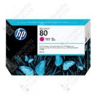 Cartuccia Originale HP 80 - C4847A - Magenta - 350ml