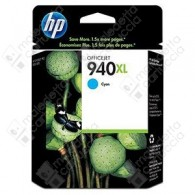 Cartuccia Originale HP 940XL - C4907AE - Ciano - 16ml - 1.400 Pagine