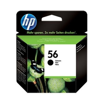 Cartuccia Originale HP 56 - C6656AE - Nero - 19ml - 520 Pagine