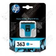 Cartuccia Originale HP 363 - C8771EE - Ciano - 4ml - 400 Pagine