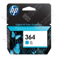 Cartuccia Originale HP 364 - CB318EE - Ciano - 3ml - 300 Pagine