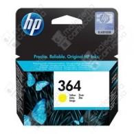 Cartuccia Originale HP 364 - CB320EE - Giallo - 3ml - 300 Pagine