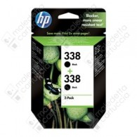 Cartuccia Originale HP 338 - CB331EE - Nero - Dual Pack