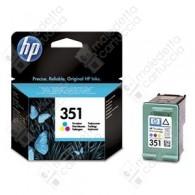 Cartuccia Originale HP 351 - CB337EE - Colori - 3.5ml - 170 Pagine