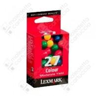 Cartuccia Originale LEXMARK 27 - 10N0227E - Colori - 220 Pagine
