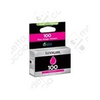 Cartuccia Originale LEXMARK 100 - 14N0901E - Magenta - 200 Pagine