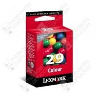 Cartuccia Originale LEXMARK 29 - 18C1429E - Colori - 150 Pagine
