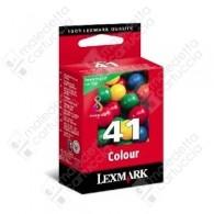 Cartuccia Originale LEXMARK 41 - 18Y0141E - Colori - 210 Pagine