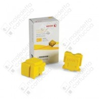 Cartuccia Originale XEROX ColorQube - 108R00933 - Giallo - 2 Stick - 4.400 Pagine