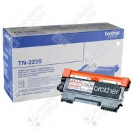 Toner Originale BROTHER TN-2220 - Nero - 2.600 Pagine