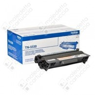 Toner Originale BROTHER TN-3330 - Nero - 3.000 Pagine