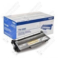 Toner Originale BROTHER TN-3380 - Nero - 8.000 Pagine