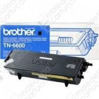 Toner Originale BROTHER TN-6600 - Nero - 6.000 Pagine