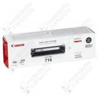 Toner Originale CANON 716BK - 1980B002AA - Nero - 2.300 Pagine
